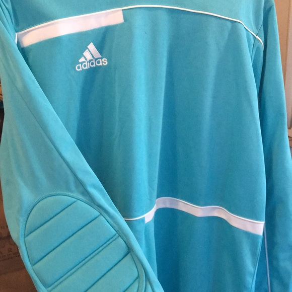 adidas Other | Adidas Freno 2 Goal Keeper Jersey Clearbluewhite ...